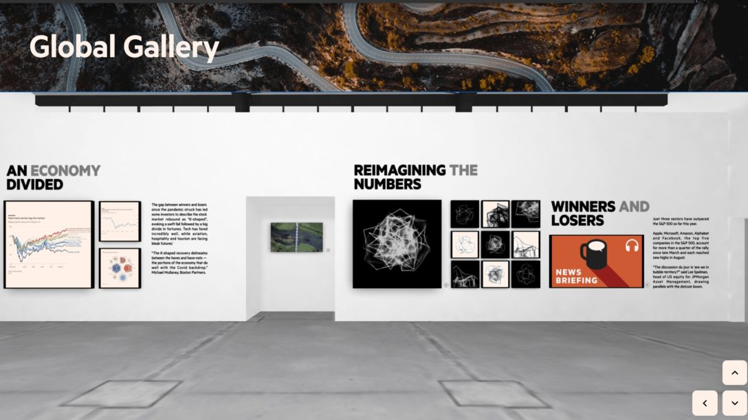 Get a tour through the Global Gallery